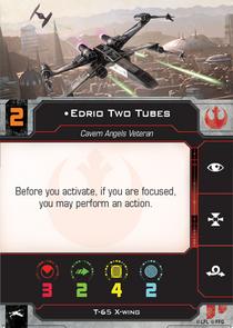Edrio Two Tubes Pilot Card
