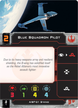 B-Wing Blue