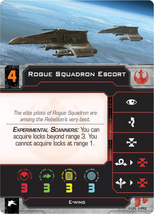 Rogue Squadron Escort   X-Wing Miniatures: Second Edition