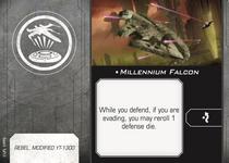 Millennium Falcon title