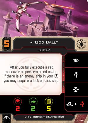 V-19 Odd Ball