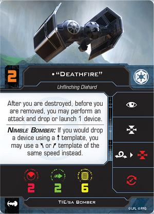 Bomber Deathfire