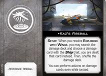 Swz63 a1 card kazs-fireball