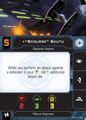 Scourge Skutu Pilot Card