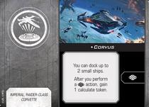 Swz54 card corvus