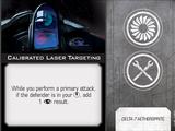 Calibrated Laser Targeting