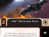 104th Battalion Pilot
