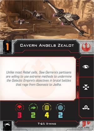 CavernAngelZealotCard
