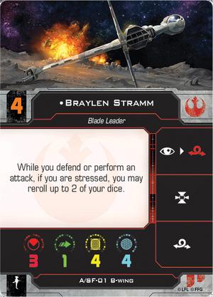 B-Wing Stramm