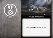 Swz62 card false-tradition