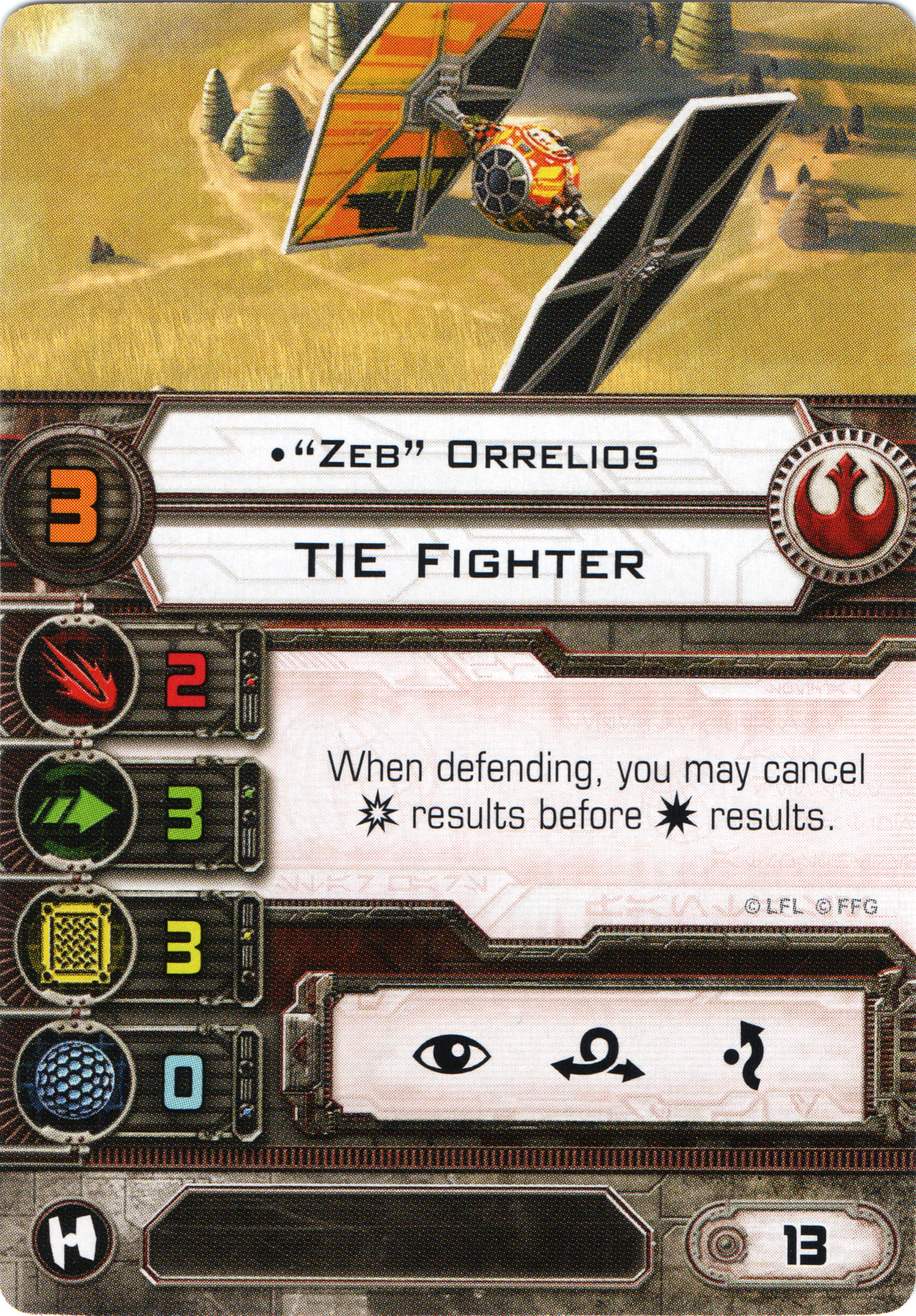 CategoryRebel TIE Fighter Pilots X Wing Miniatures Wiki