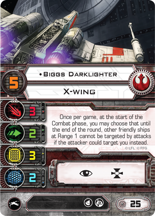"STAR Wars X Wing Wedge Antilles /& Biggs DARKLIGHTER 12/"" figure in Scatola NUOVO"