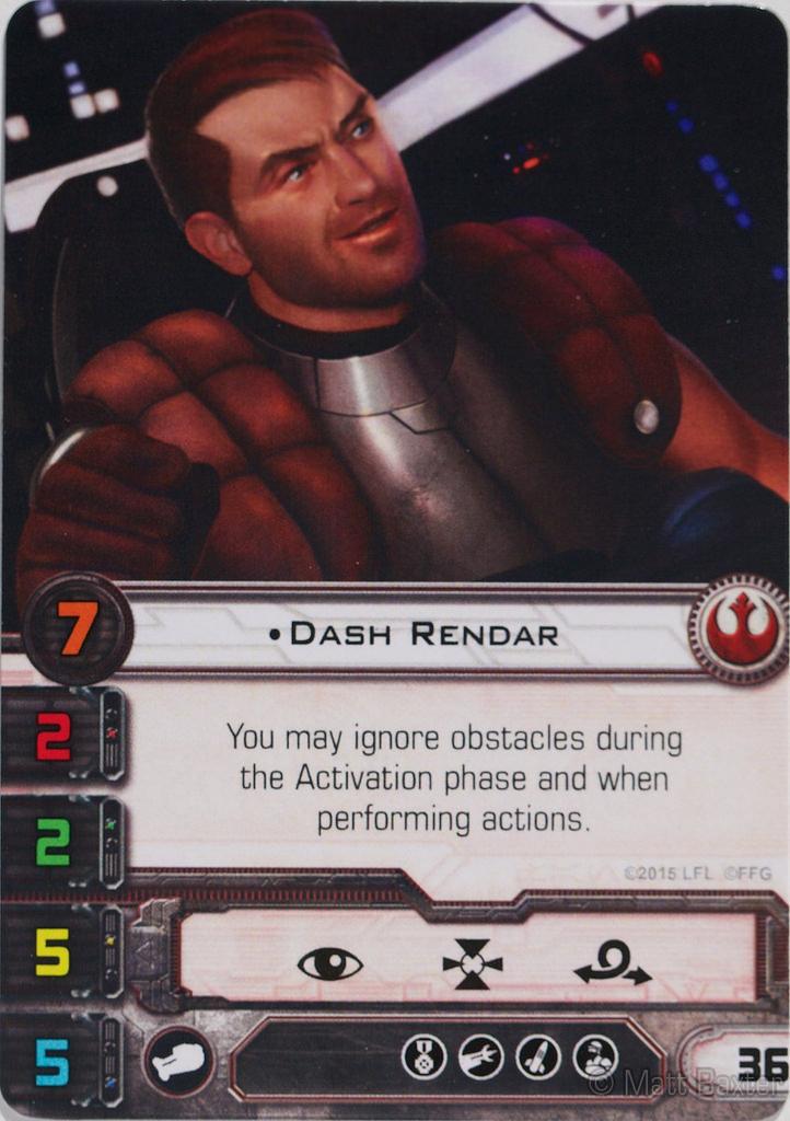 Dash Rendar X Wing Miniatures Wiki FANDOM Powered By Wikia