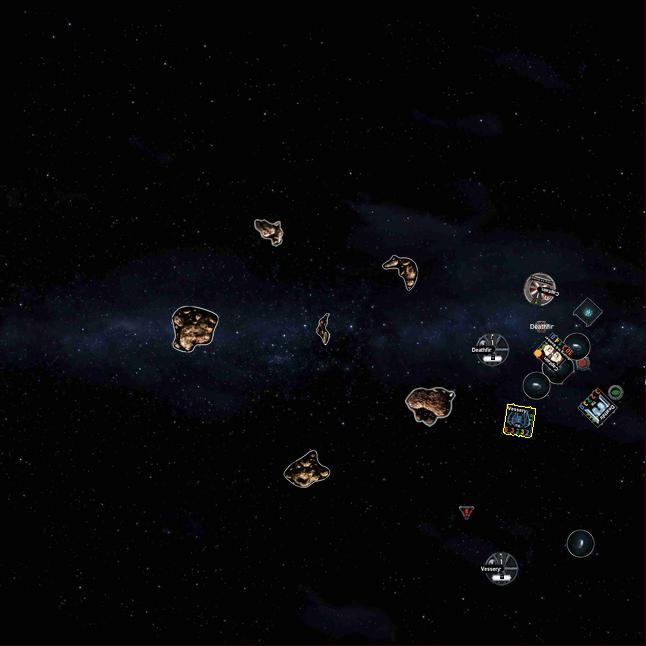 Star Wars X-Wing Miniatures GameMap