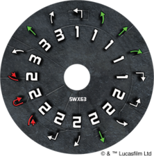 SWX63 Dial