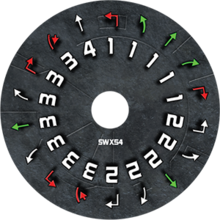 Swx54 dial