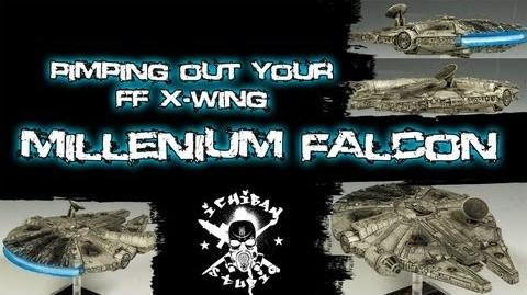 How to Paint a Fantasy Flight X-wing FALCON