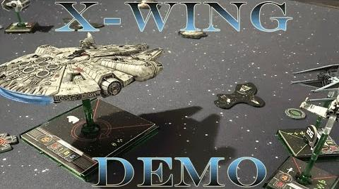 X-Wing Sample Game - Demo