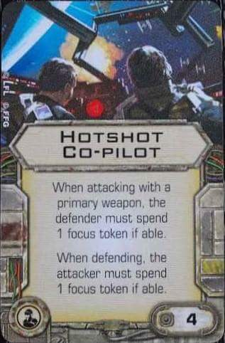 Hotshot Co-pilot | X-Wing Miniatures Wiki | FANDOM powered