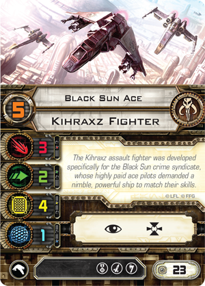 Black Sun Ace | X-Wing Miniatures Wiki | FANDOM powered by Wikia