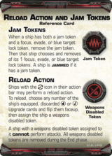 Reload Action and Jam Tokens - Reference Card