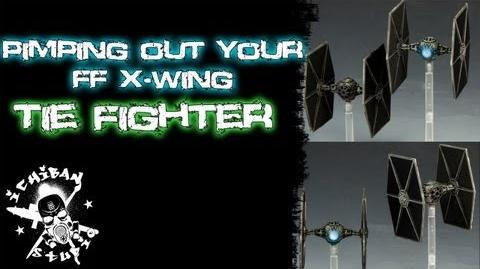 How to Paint a Fantasy Flight X-wing TIE FIGHTER