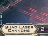 Quad Laser Cannons