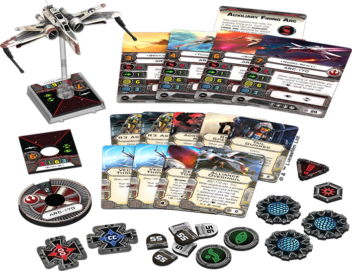 Star Wars X-Wing Miniature 1.0 Protectorate Starfighter