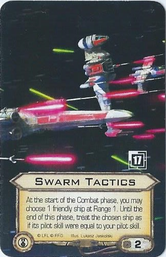 alternate Swarm Tactics card