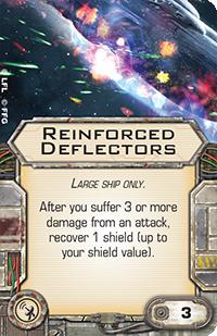 Reinforced-deflectors