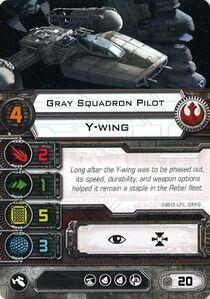 Grey Squadron Pilot