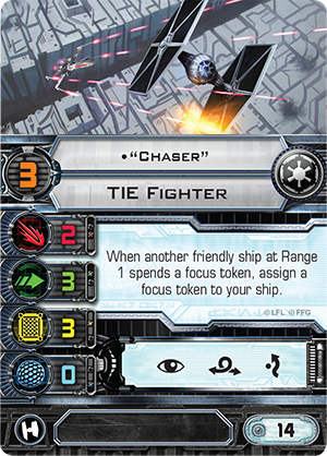 """""""Chaser"""" Card"""