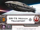 GR-75 Medium Transport (Pilot Card)