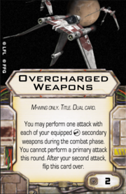 Overcharged Weapons
