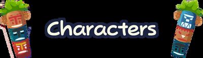 Mainpage characters