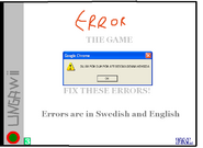 Error The Game old front pal