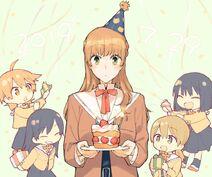 Happy Birthday Sayaka