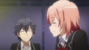 S2 Episode 1 Hachiman Yui 1