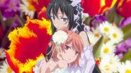Yukino and Yui in CT of season 1