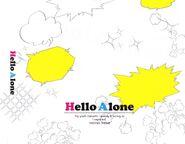 Hello Alone Tray