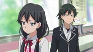 EP1 Yukino Embarrassed