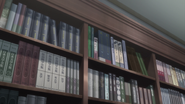 S2 EP5 Hikigaya Bookcase