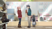 OVA2 Yui Dog Hachiman