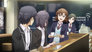 S2 EP3 Hachiman Haruno Kaori Chika 1