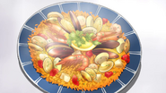 OVA1 Yukino Food