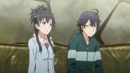 S2 Episode 1 Hachiman Yukino Lobby 3