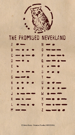 Morse code graph