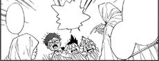 Sonju's intimidating the orphans