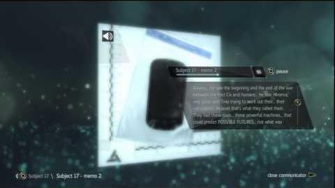 Assassin's Creed 4 All Secret Desmond Voice Memo's