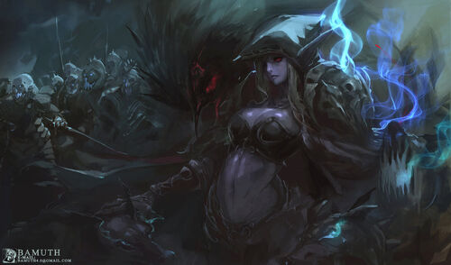 Sylvanas by bamuth-d7jyiln